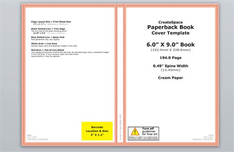 How To Make A Full Print Book Cover In Microsoft Word For Createspace Lulu Or Lightning Source Microsoft Publisher Book Cover Template