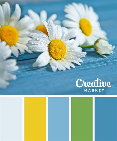 colors of spring 15 fresh color palettes for spring creative market blog