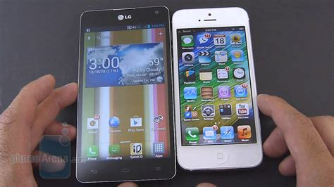 lg optimus g vs apple iphone 5