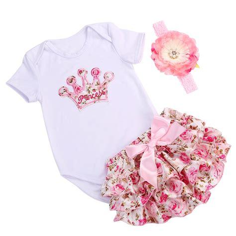 Aliexpress Buy Fashion Baby Clothing Aliexpress Buy Crown Infant Baby Clothing Set Bodysuit Summer Tiara Brand
