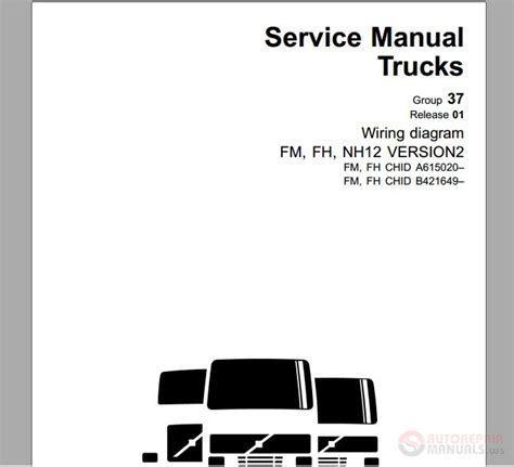 volvo truck fm fh nh  euro   service manual auto repair manual forum heavy