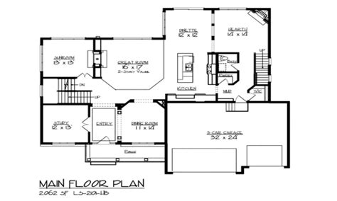 open floor plan small homes lake house floor plan open floor plans for lake homes