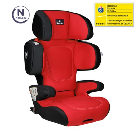 Rehausseur Inclinable by Renofix Romeo Rehausseur Isofix Inclinable Groupe 2 3