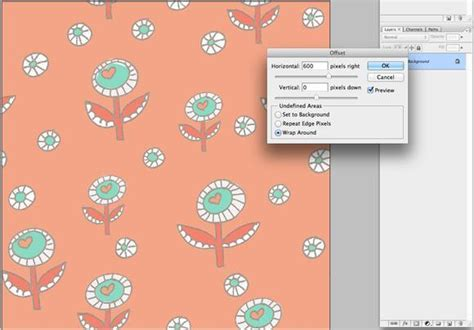 pattern repeat maker create seamless pattern photoshop tutorials psddude
