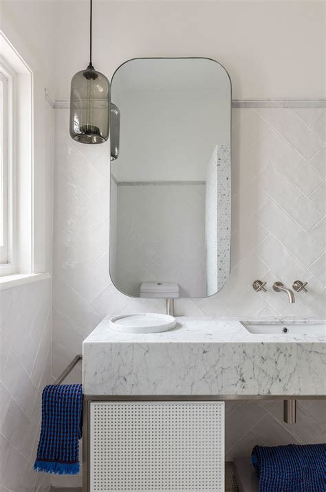 bathroom pendants 3 bathroom vanity lighting installations to inspire your