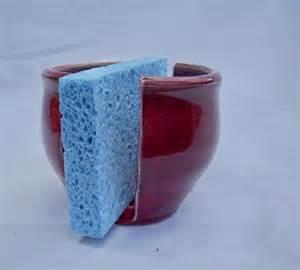 sponge holder for kitchen garnet kitchen sponge holder by rabbitmeadowstudio on etsy