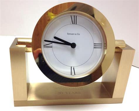 tiffany desk clock tiffany clock desk clock like new buya