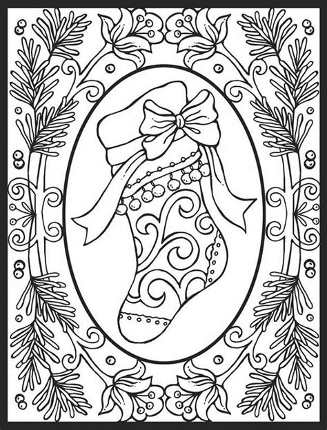 printable coloring pages for adults christmas christmas coloring pages for adults images coloring
