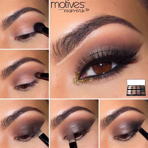 tutorial eyeshadow smokey eyes maryam maquillage motives mavens element quot chocolate