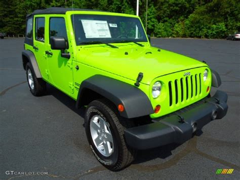 gecko green jeep gecko green 2012 jeep wrangler unlimited sport s 4x4
