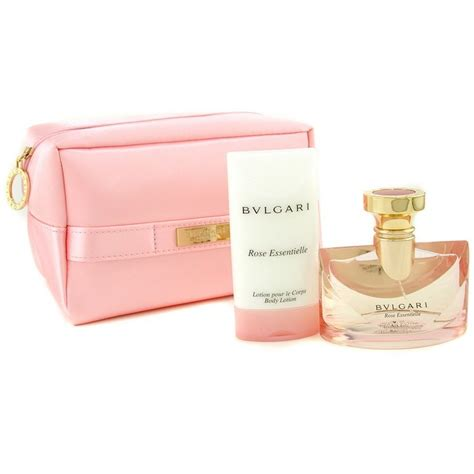 Parfum Bvlgari Essentielle 50ml bvlgari essentielle coffret edp spray 50ml 1 7oz lotion 75ml 2 5oz pink bag fresh