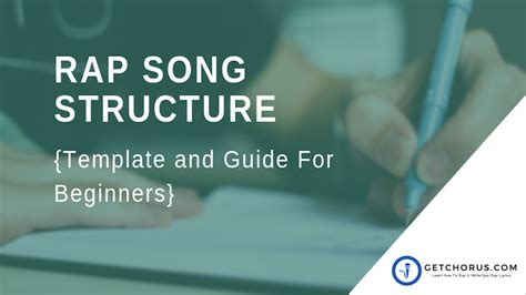 song structure template rap song structure template and guide for beginners