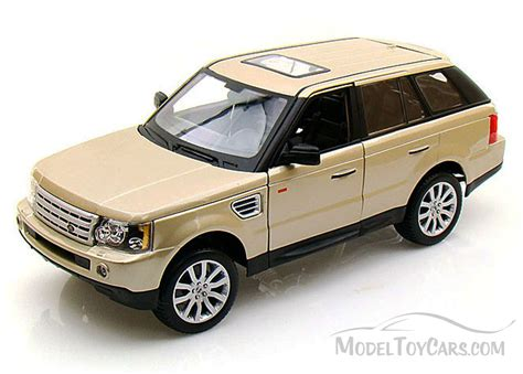 toy range range rover sport suv gold bburago 12069 1 18 scale