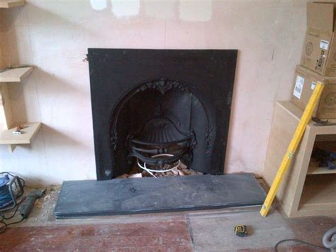 Cast Iron Fireplace Insert Installation by Classic Fireplace In Kingston Upon Thames The