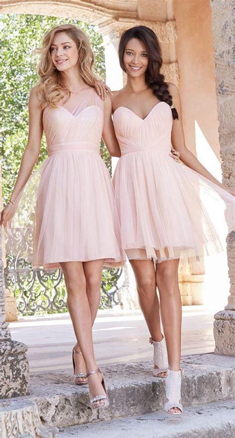 what color blush should i wear 38 beautiful bridesmaids dresses crazyforus