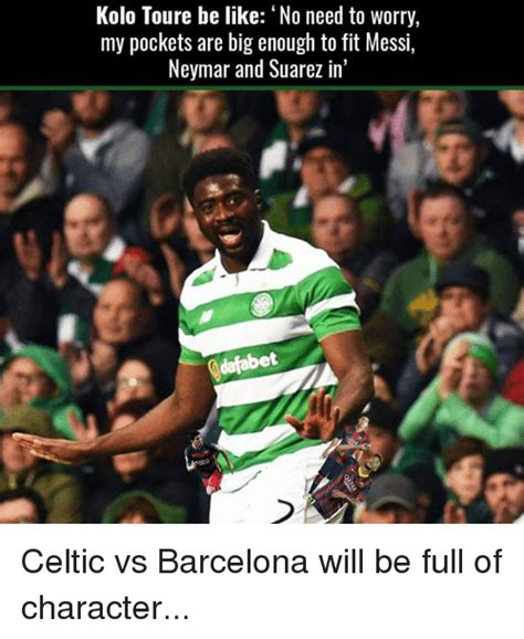 Kolo Toure Memes - 25 best memes about barcelona and celtic barcelona and