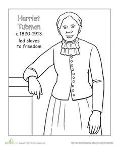 Black History Coloring Pages For Black History Month