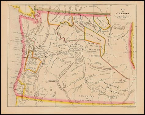 oregon territory map mapping stolen lands of illahee modern colonial oregon