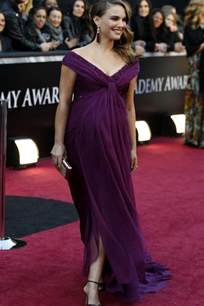 Red Doormat Oscars Fashion The Top Pregnant Celebrities On The Oscars