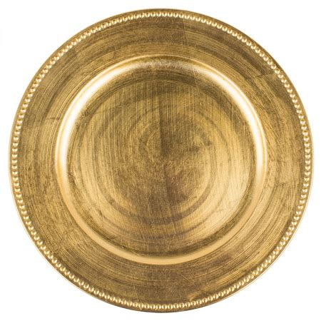 gold beaded charger plates 1302gld gold beaded charger plates