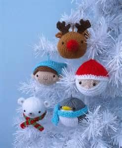 christmas crafts knitting patterns