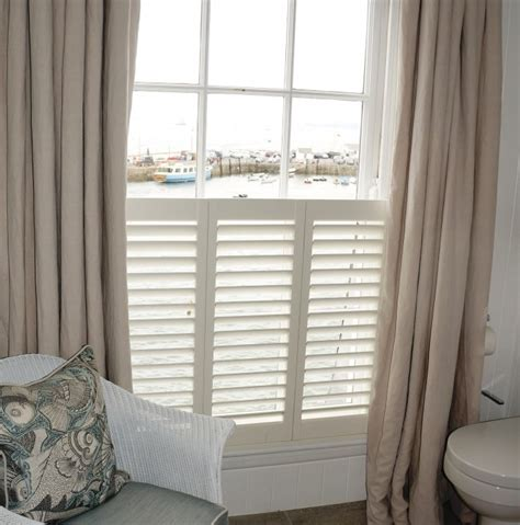 shutters and curtains idle rocks hotel st mawes cornwall west country shutters