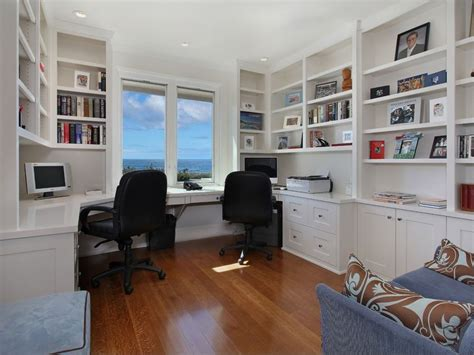 contemporary home office contemporary home office with crown molding built in bookshelf in point ca zillow digs