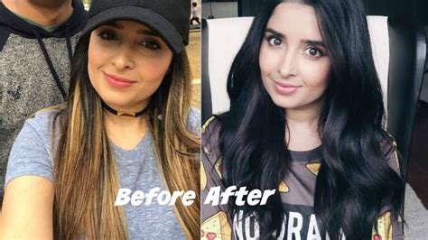 how to dye your hair blonde from black the whole process blond and black hair hairstyle of nowdays