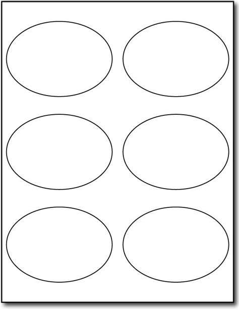 oval label templates white oval labels white adhesive labels desktop supplies