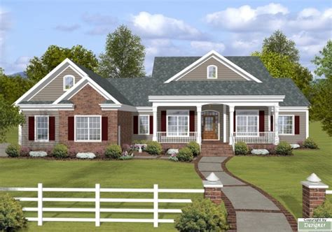 One Story Craftsman Bungalow House Plans the kempsville 3305 3 bedrooms and 3 5 baths the house