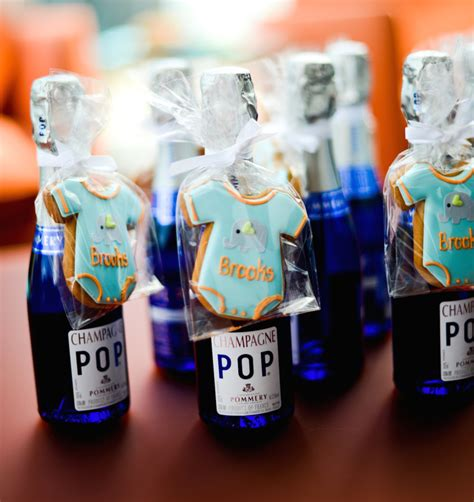 Boy Baby Shower Favors Diy diy chagne favors fashionable hostess