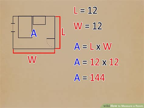 how to measure room size 4 ways to measure a room wikihow