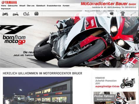 Motorrad Yamaha Bamberg motorradcenter johann bauer gmbh in bamberg