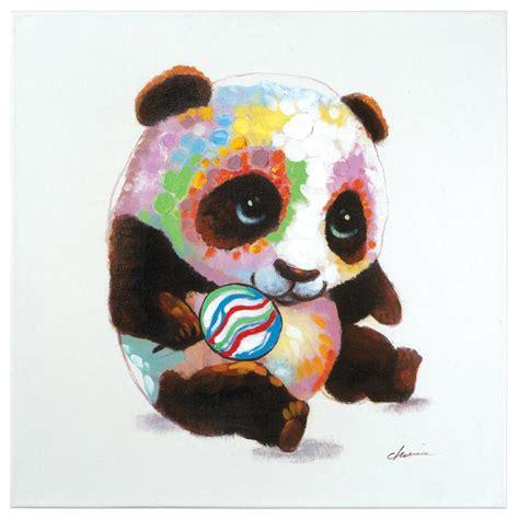 yosemite home decor 24 in x 24 in quot pure romance i quot hand yosemite home decor 24 in h x 24 in w quot panda color