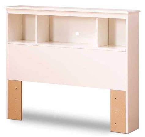 White Bookcase Headboard by South Shore White Bookcase Headboard