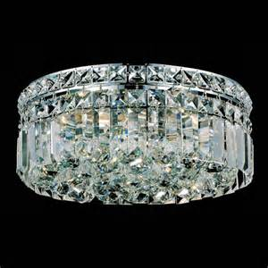 Flush Mount Chandelier Brizzo Lighting Stores 12 Quot Bossolo Transitional Flush Mount Chandelier Polished