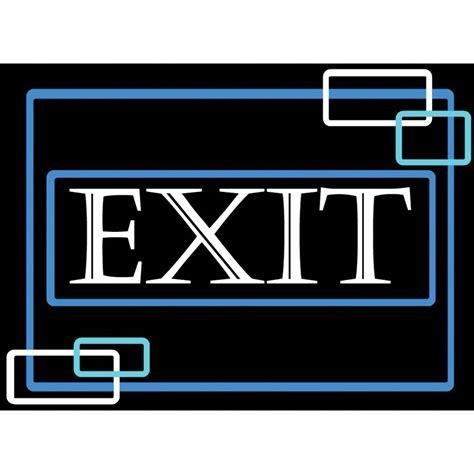 porta trace light panel porta trace gagne led light panel with exit logo 1618