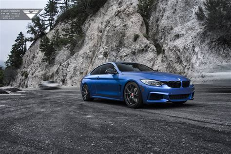 bmw supercar blue estoril blue bmw 4 series with carbon graphite vorsteiner
