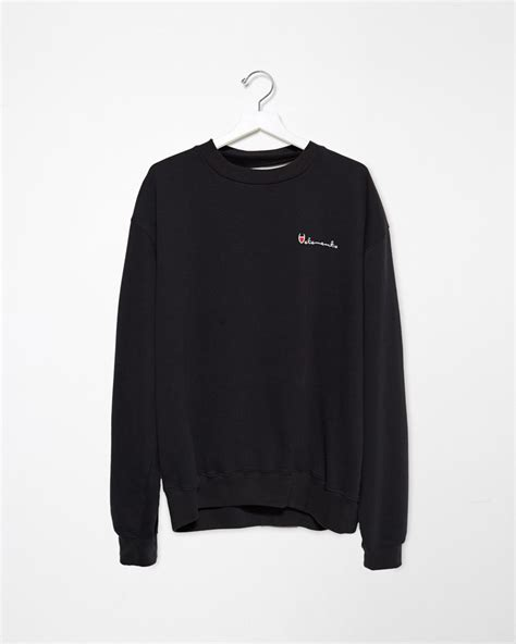 Dime Crewneck Original Black Not Palace Supreme w2c vetements crewneck on taobao fashionreps