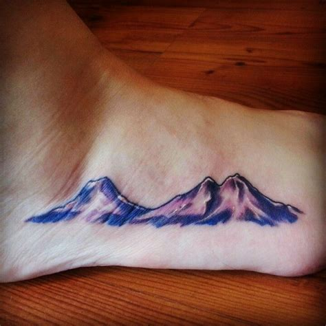 watercolor mountain tattoo 1000 ideas about oregon on tattoos