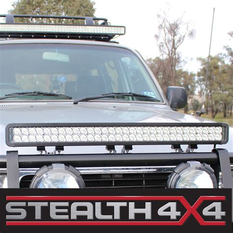 Led Light Bar 4x4 Stealth 32 Inch 180w Light Bar 60 X 3w Cree Led 4x4 Auto Driving Bright Spot Stealth 4x4
