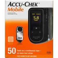 List Accu Mobil Accu Chek Mobile Blood Glucose Monitor With 60 Back Free Shipping For 60 Myshopping