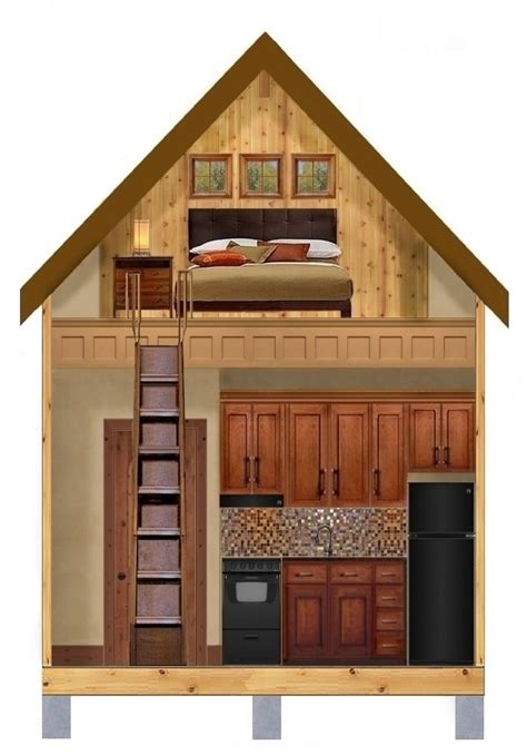 Small Home Builders Dallas Tiny Houses Plan 273
