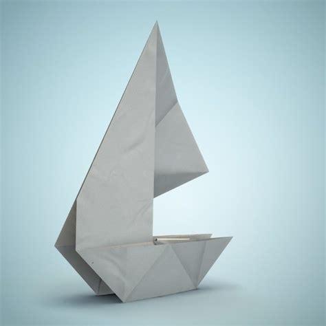 Origami Ship - origami boat 3d model obj fbx dae lxo lxl cgtrader