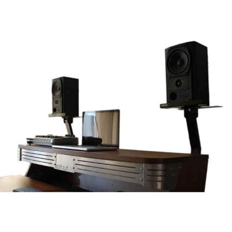 studio dj desk stand speaker brackets sb030 901