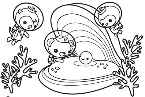 Octonauts Coloring Pages Printable Coloringstar Printable Coloring Book Pages