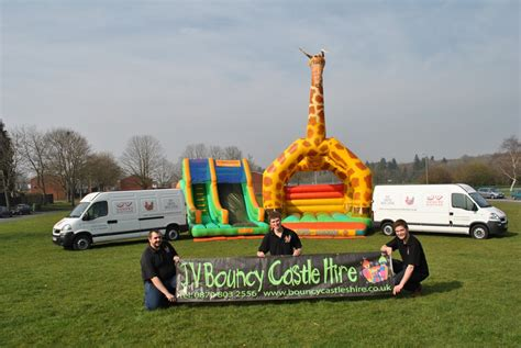 jv bouncy castle hire basingstoke and inflatable slide the team jv bouncy castle hire basingstoke and