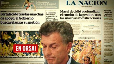 macri admite que no solucionar 225 la crisis econ 243 mica el periodismo oficialista en su intento por hacer arrancar