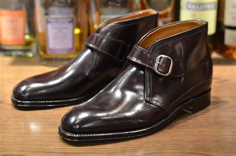 george boots affordable luxury alden shoes black shell plaza george