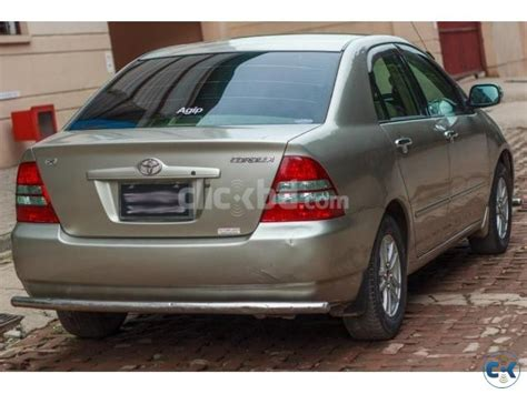 Toyota X Price In Bangladesh Toyota Corolla X Limited 2003 Model Clickbd